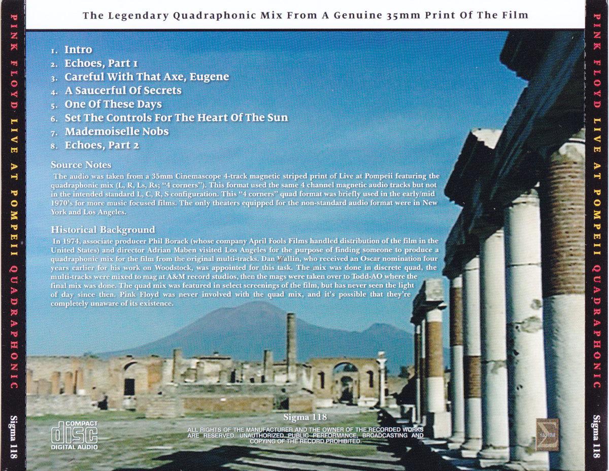 Pink Floyd Live Pompei