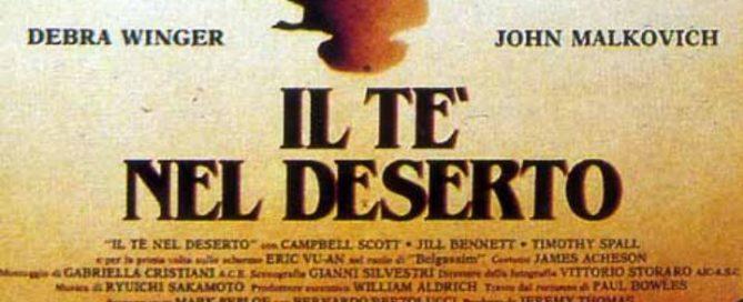 il tè nel deserto colonna sonora recensione