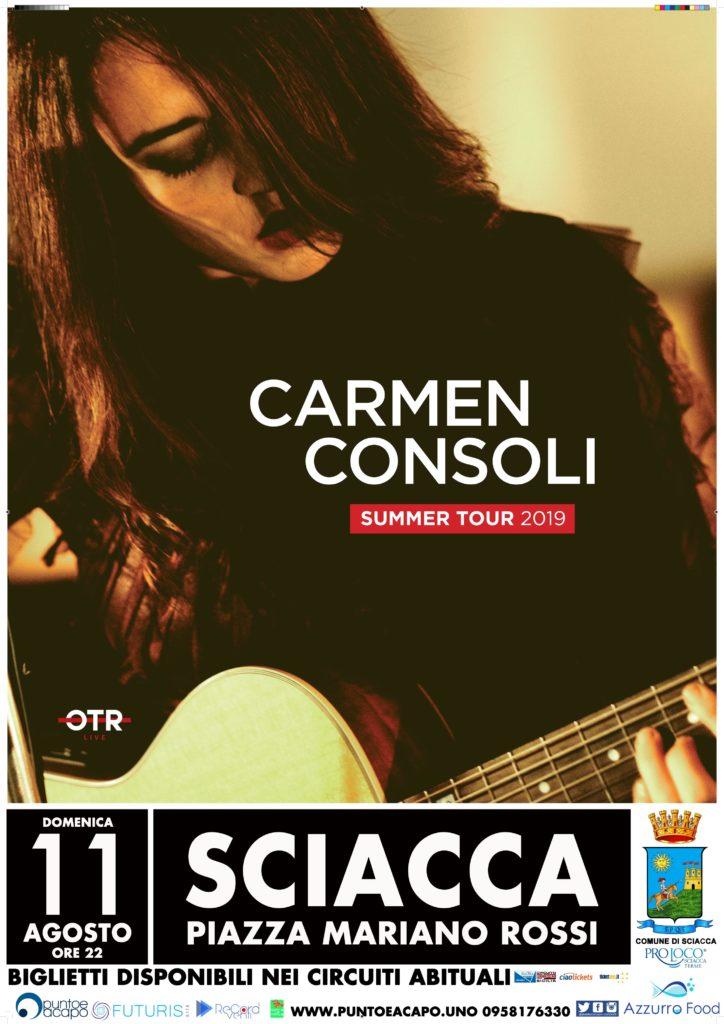 Carmen Consoli Sciacca