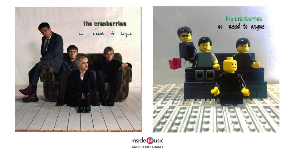 The Cranberries - No need to argue - Cover Lego